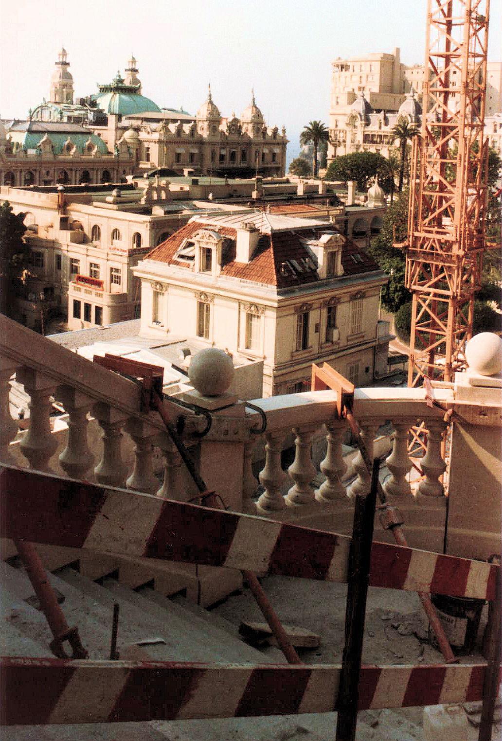 Escalier pr fabriqu style belle poque h tel for Escalier prefabrique