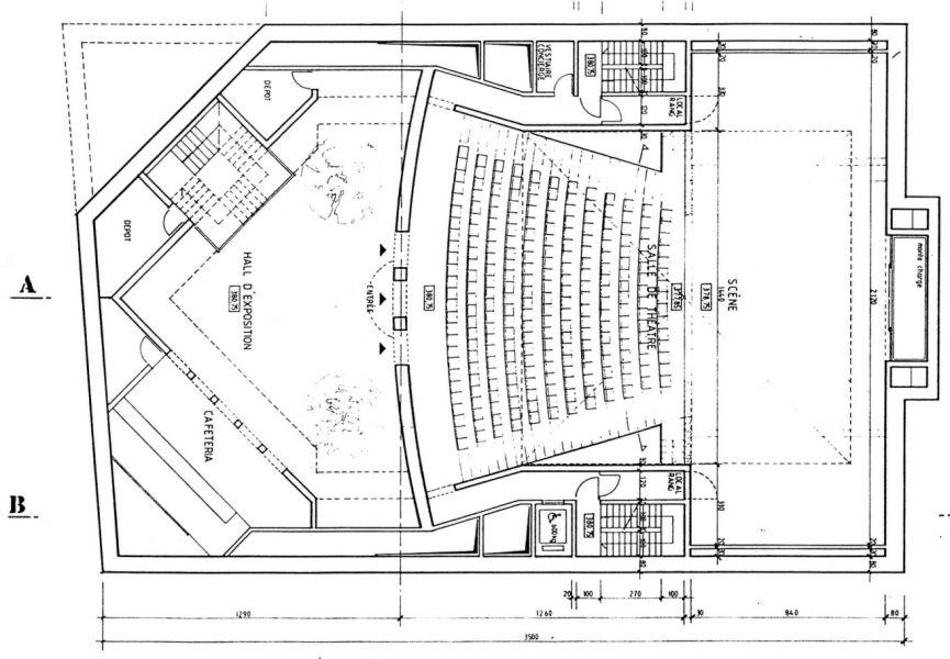 salle theatre plan